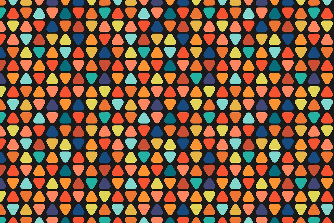 Colorful seamless patterns. example image 7