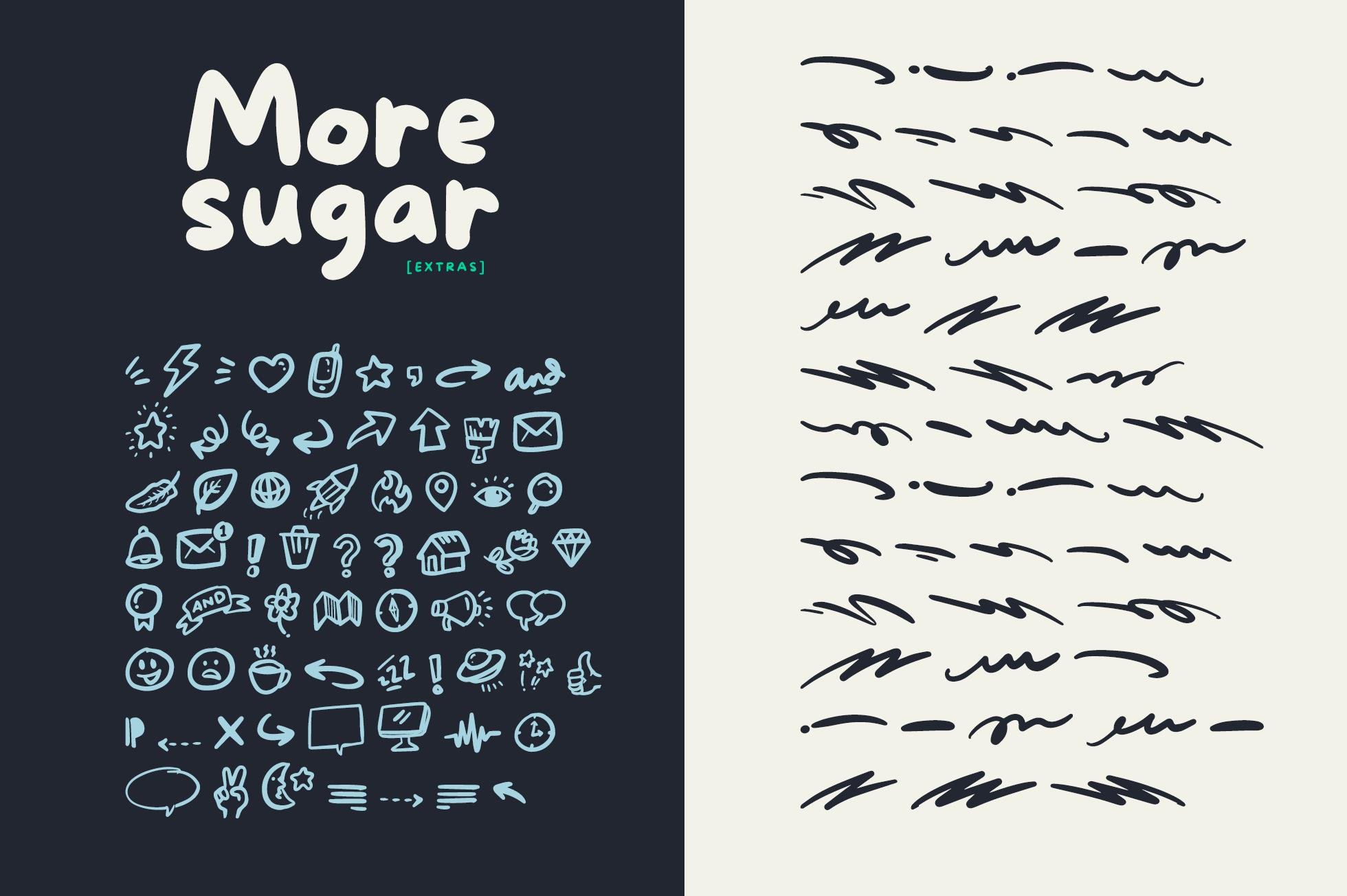 More Sugar + Extras example image 3