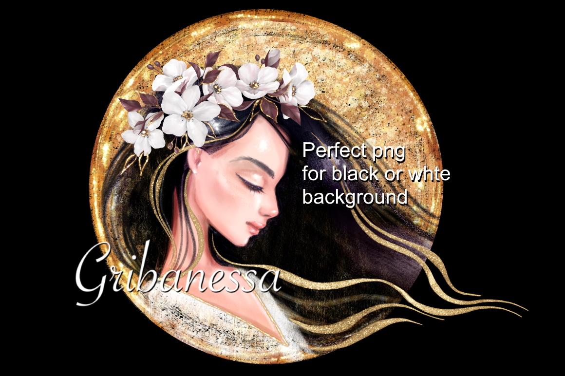 Beautiful brunette example image 2