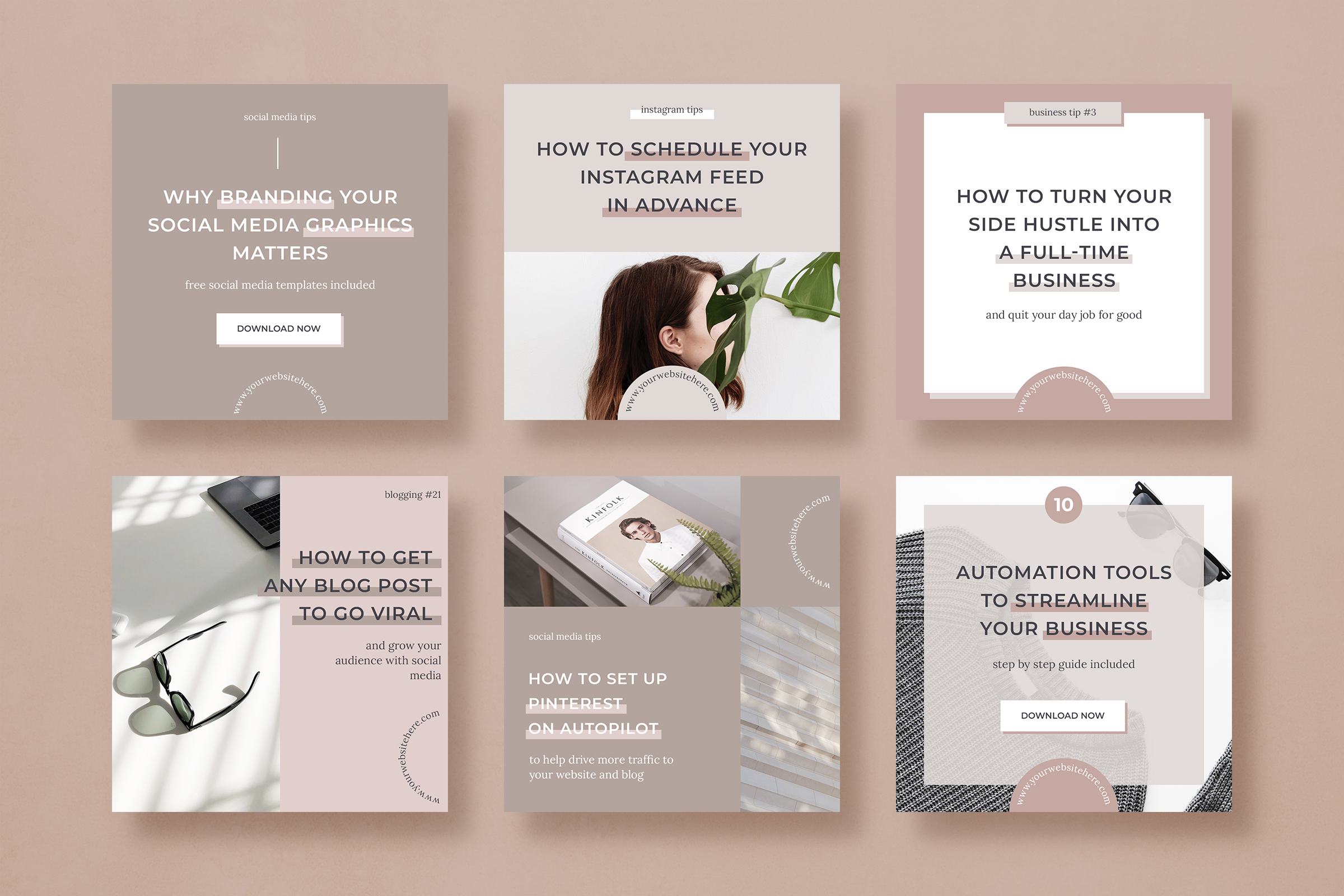 Infopreneur social media marketing bundle for bloggers example image 8