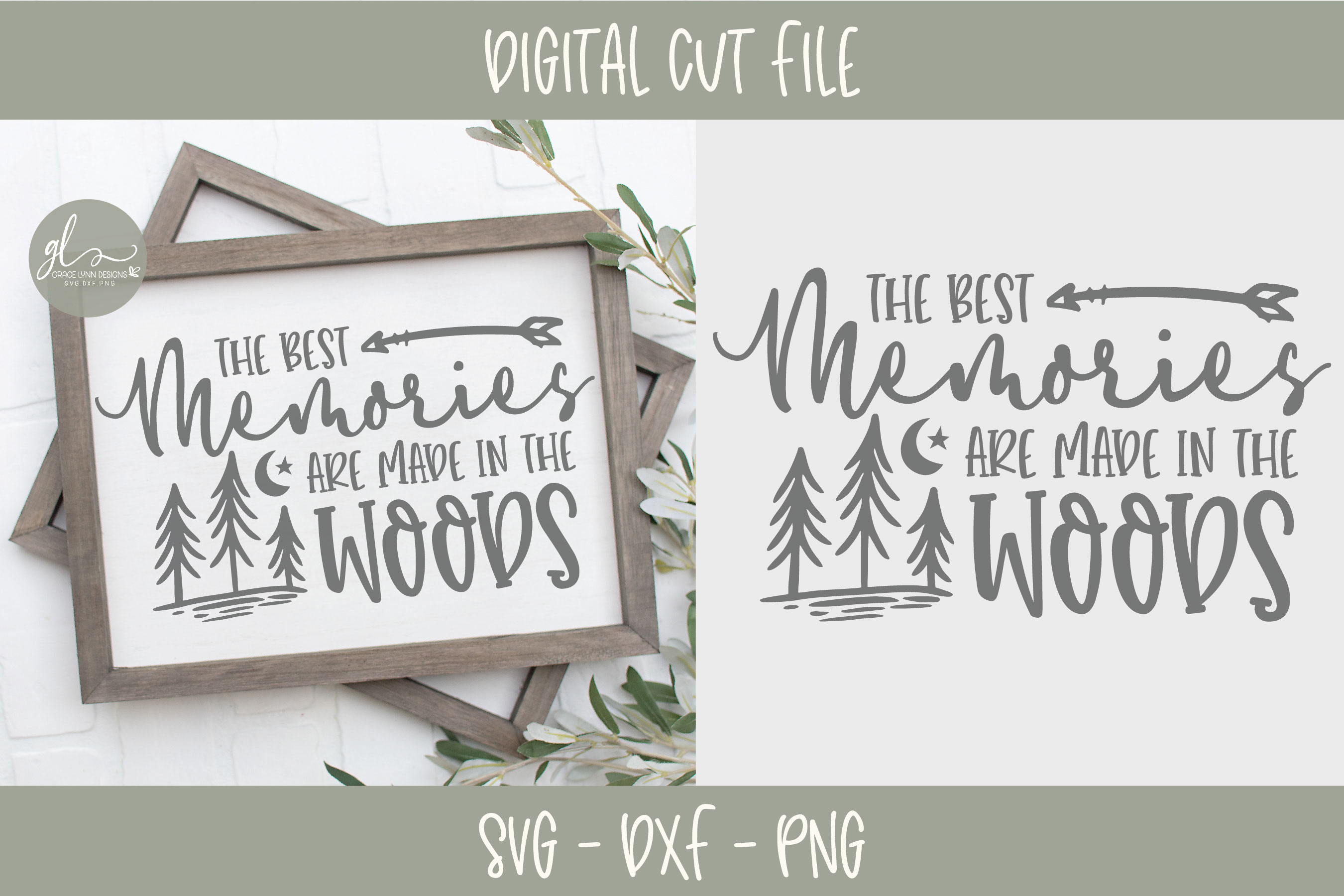 Camping Bundle - 10 Camping SVG Cut Files example image 4