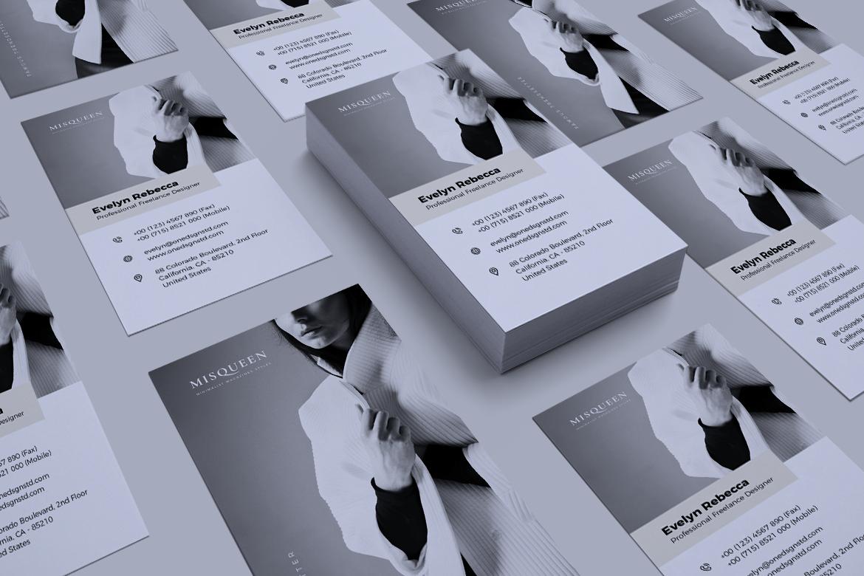 Minimalist Business Card Vol. 08 example image 2