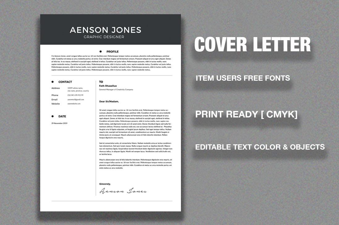 Resume/CV example image 3