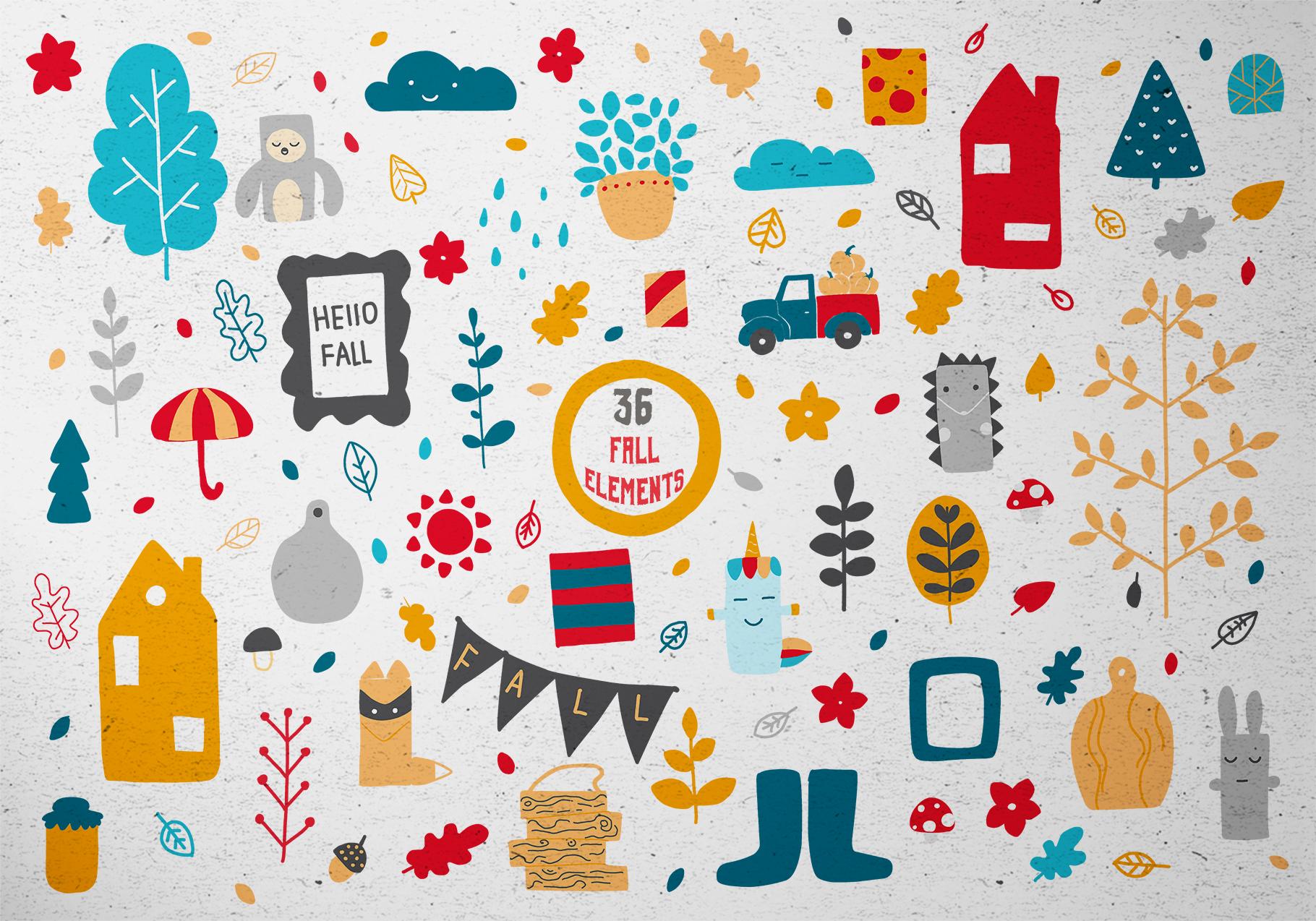 Character creator - Fall holidays example image 11