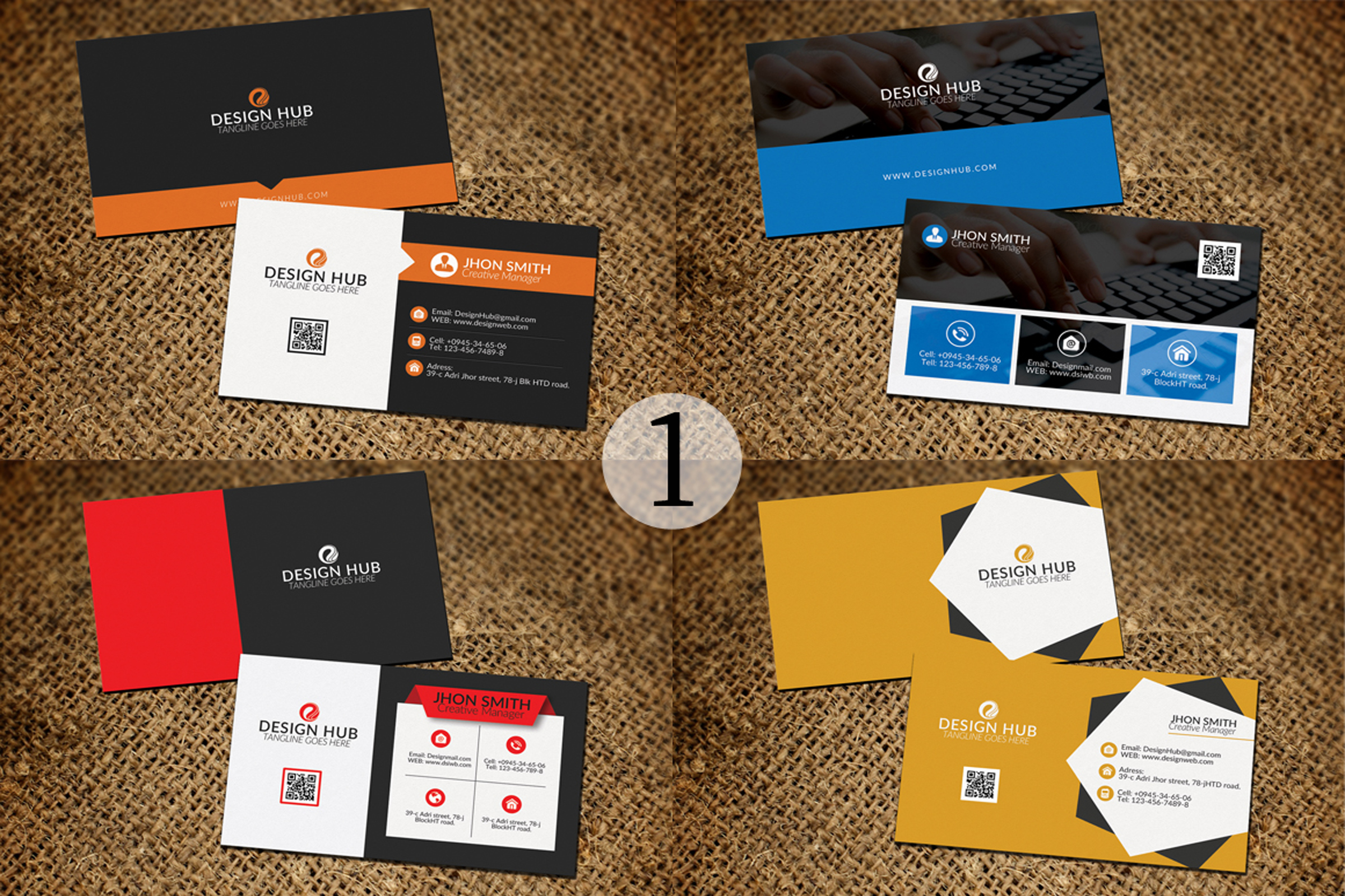 32 Business Cards Bundle Deal example image 2
