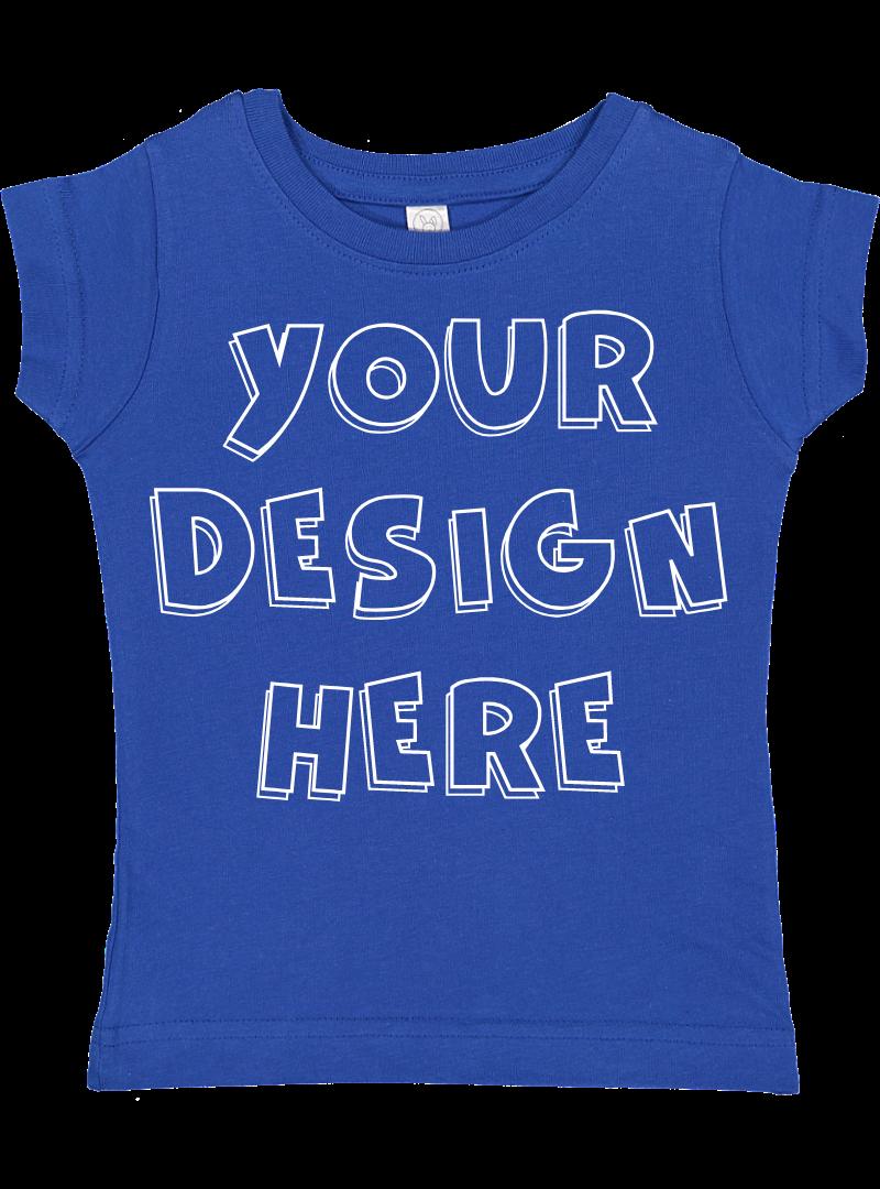 Toddler Gilrs Flat Jersey T Shirt Mockups - 17 example image 16