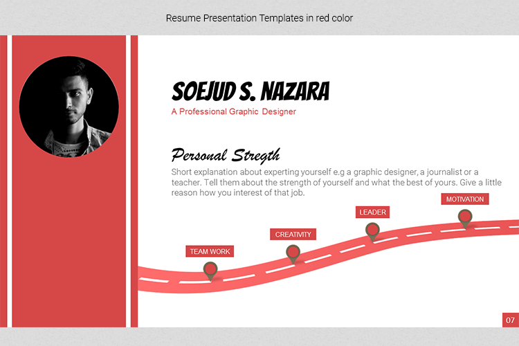 A4 Resume Templates Word example image 24