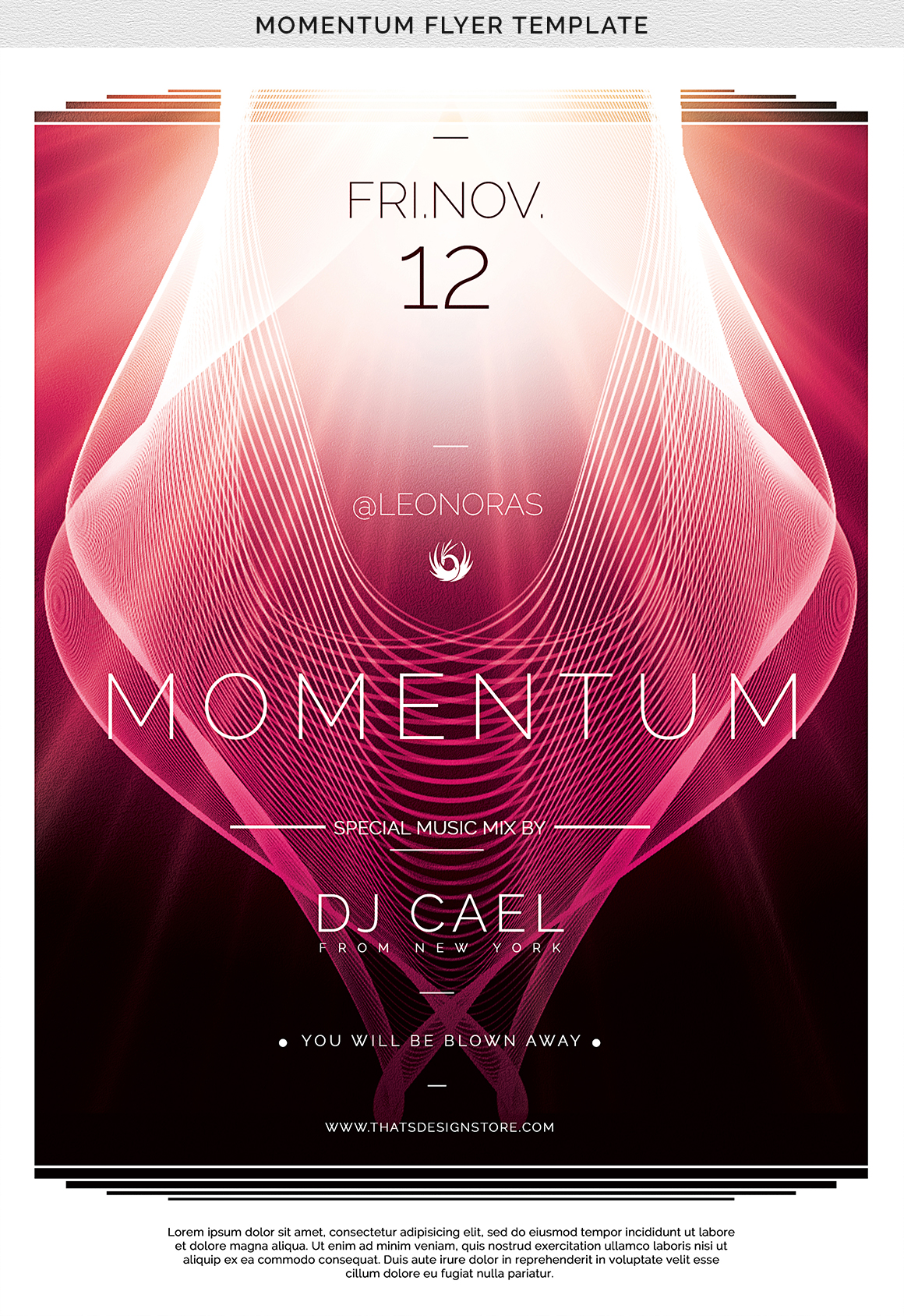 Momentum Flyer Template example image 10