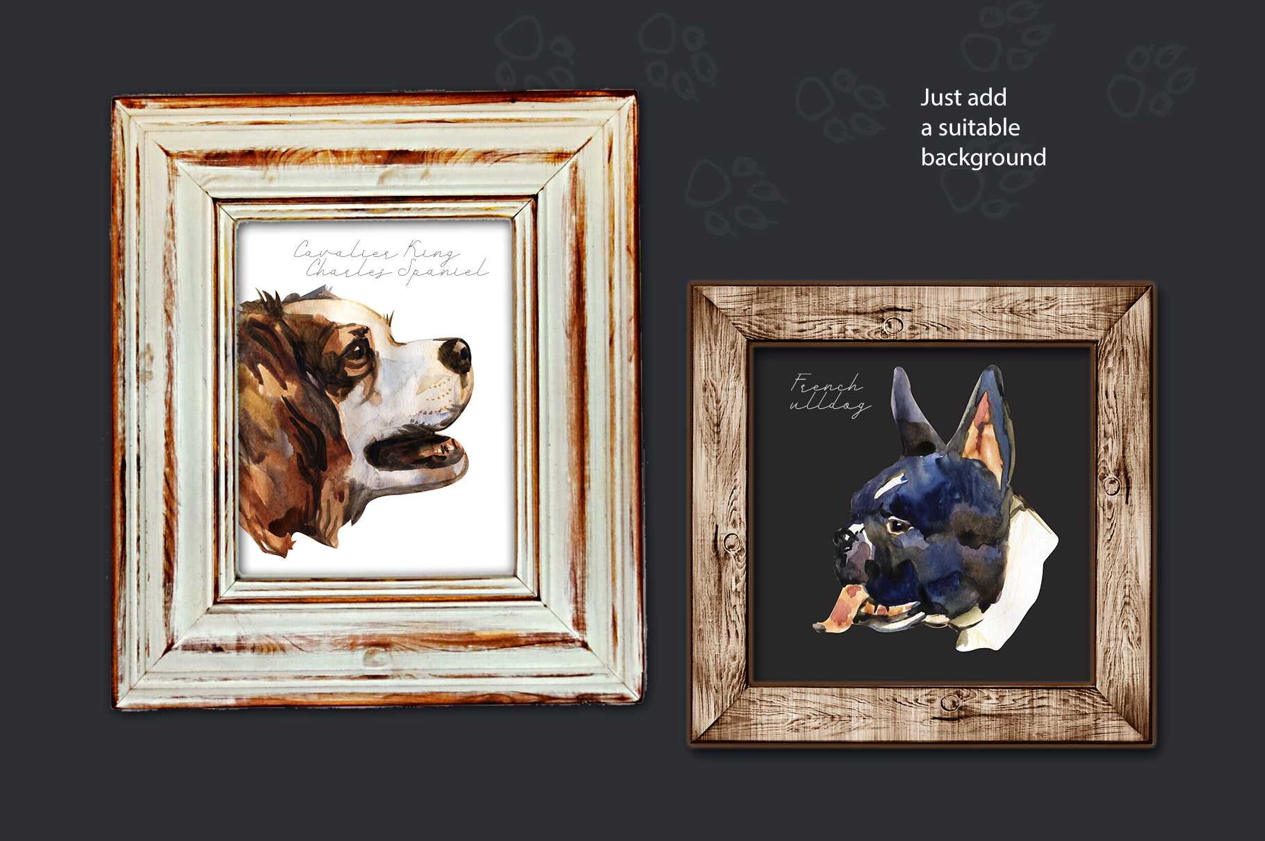 Decorative dogs set example image 4
