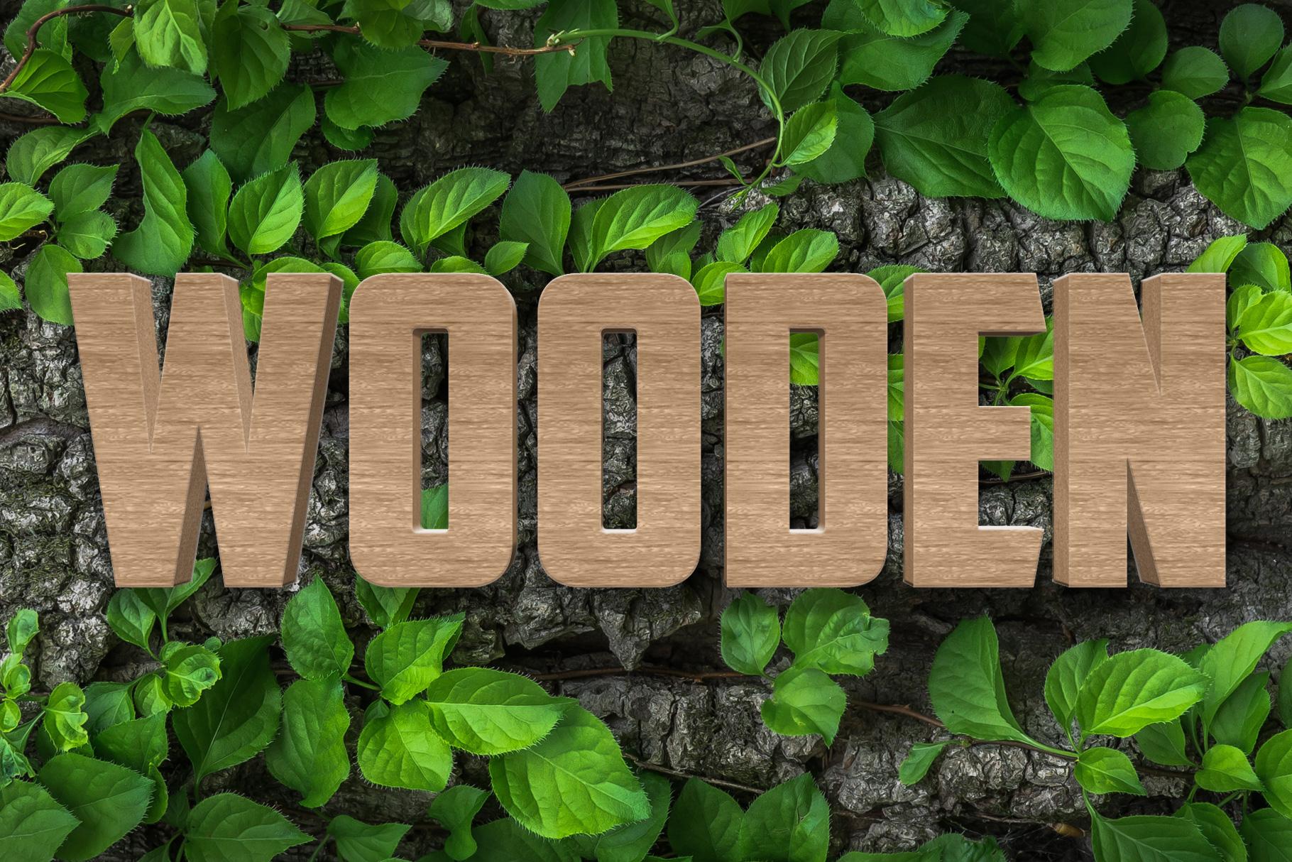 10 Wood Style for Photoshop example image 7
