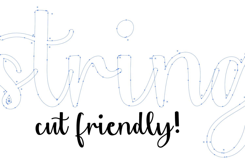 String Greens - A Fun Script Duo example image 4