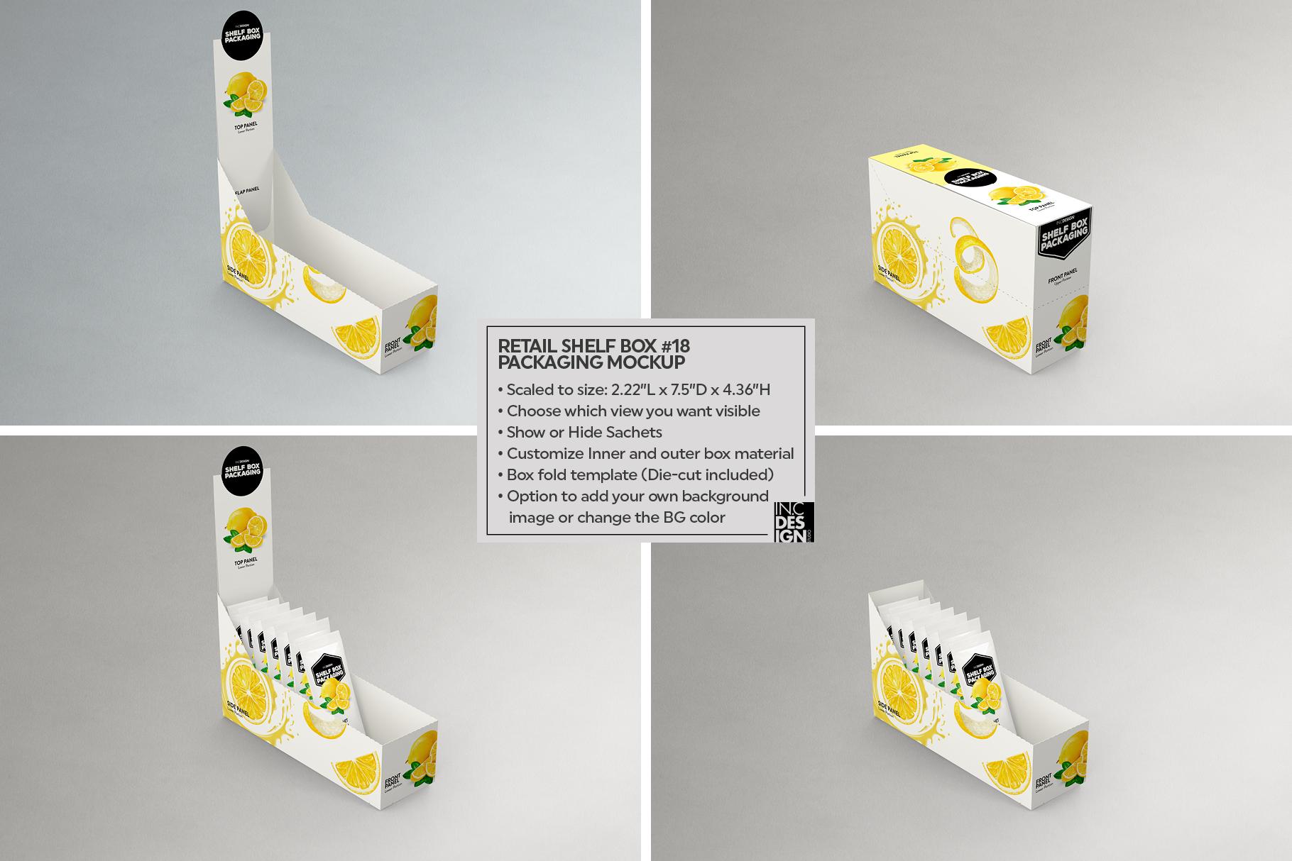 Shelf Box Packaging Volume 4 example image 7