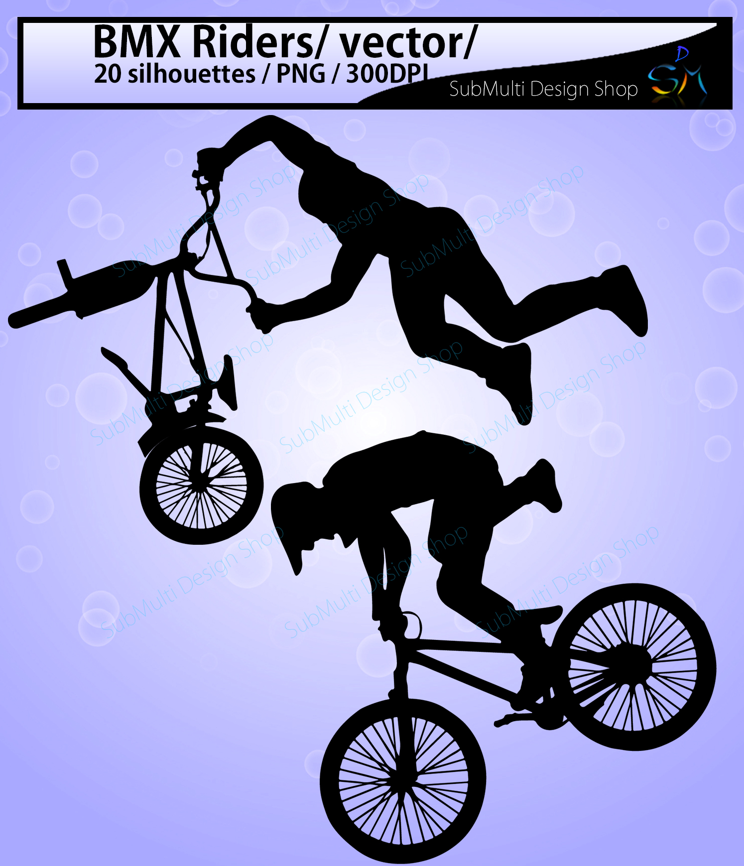 bmx rider silhouette / BMX Rider svg / bmx riders / bmx cycle / bmx rider cliparts / bmx rider vector / bike ride / SVG / EPS / Png / DXf example image 2