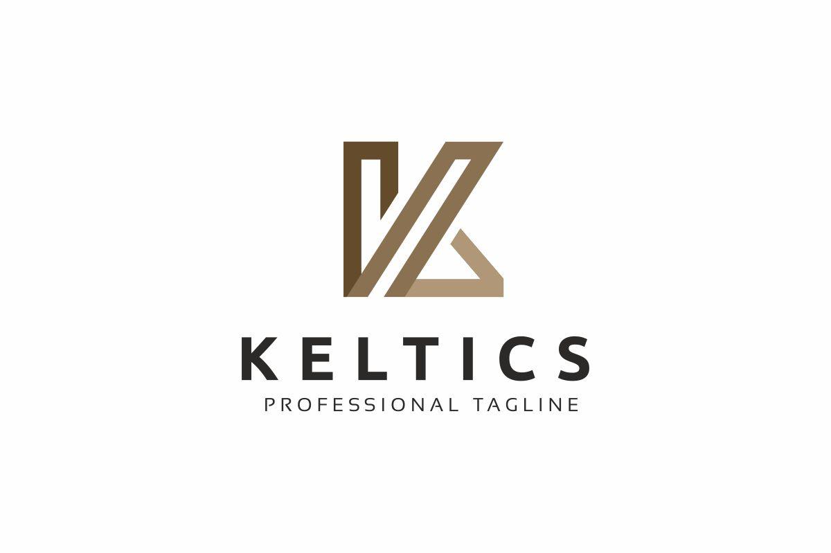 K Logo Monogram Letter example image 1