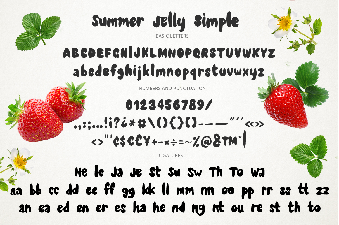 Summer Jelly font duo + PS Styles. example image 11