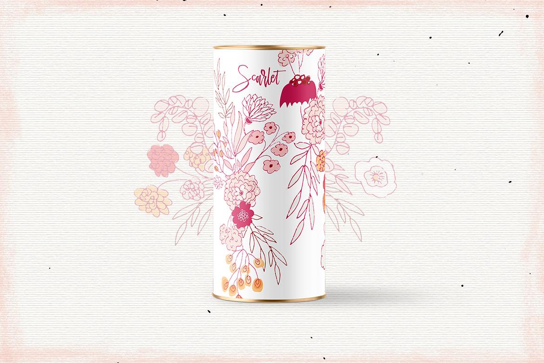 Scarlet Flowers example image 5