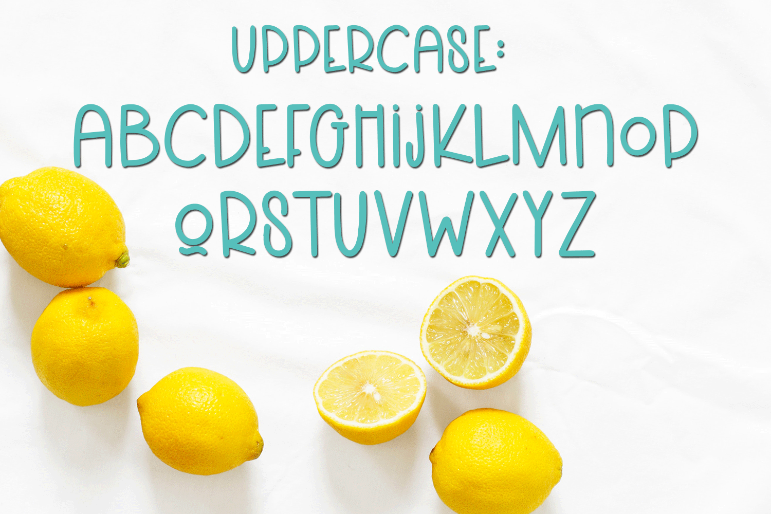 Lemons and Sugar- A Fun Hand-Written Mismatched Font example image 4