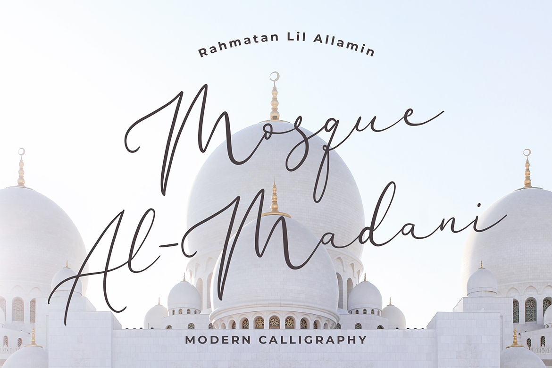 Brianna Qasim Calligraphy Font example image 2