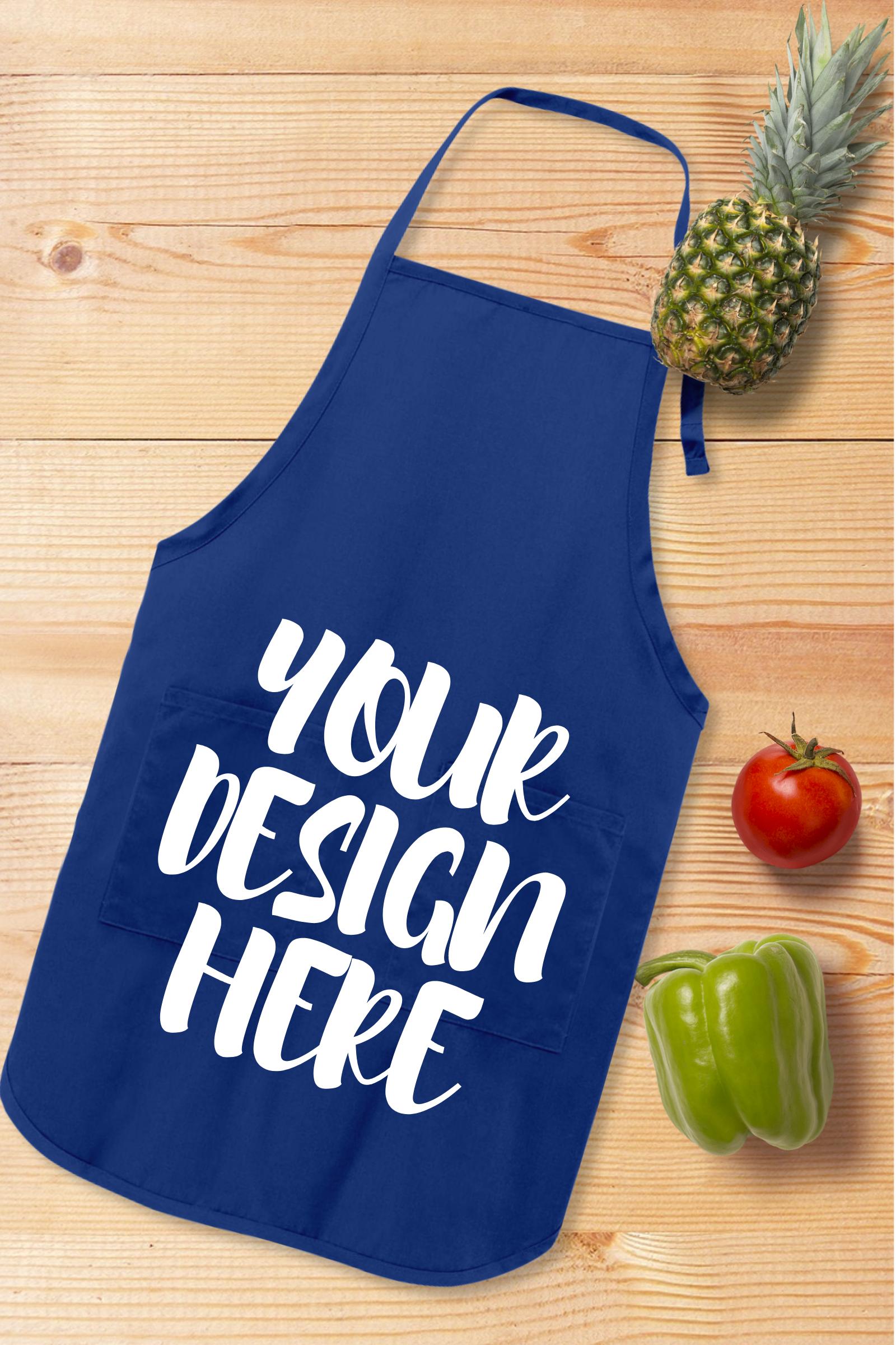 Apron Mock Ups Bundle With Kitchen Theme - 6 example image 2