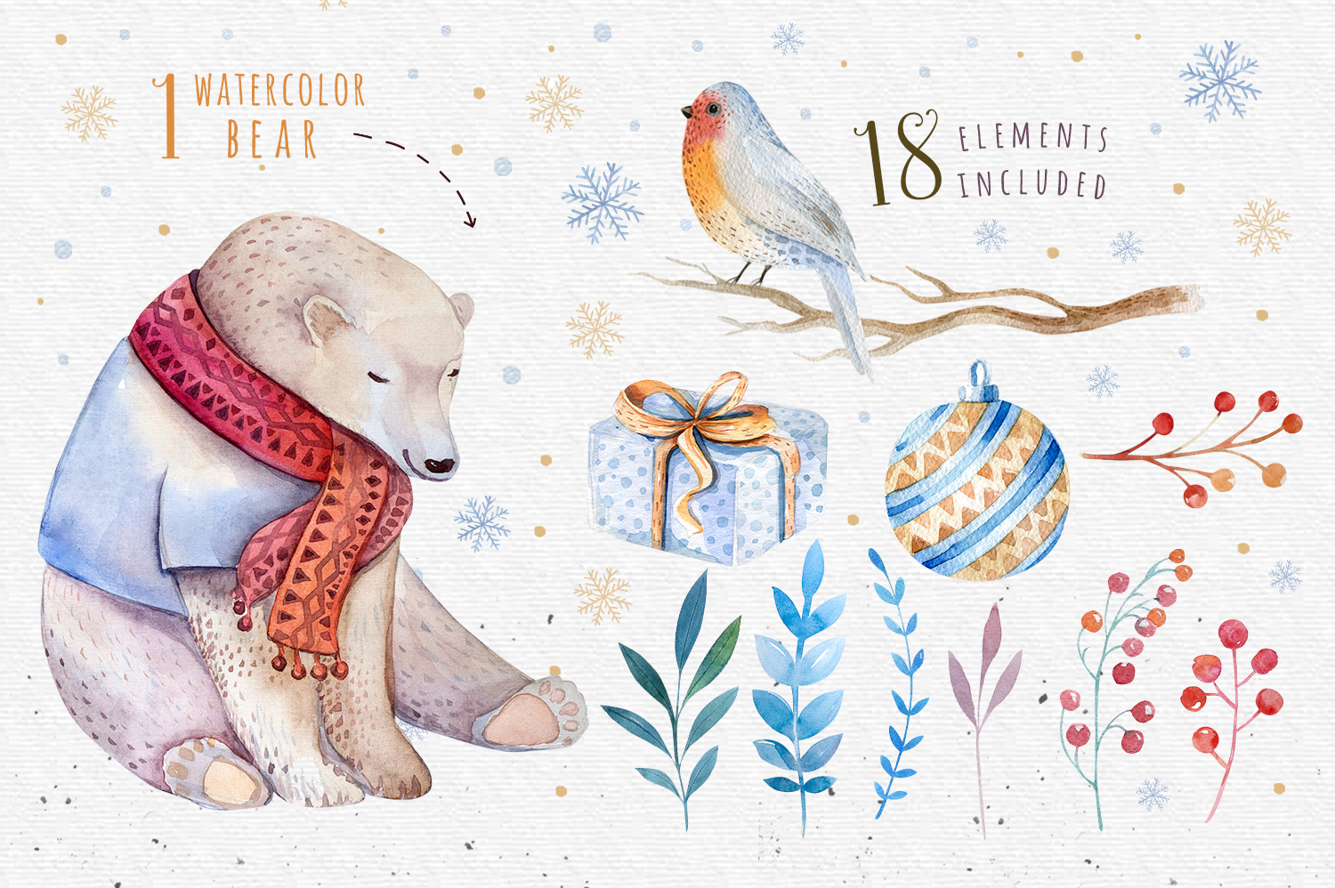 Christmas bear collection example image 2