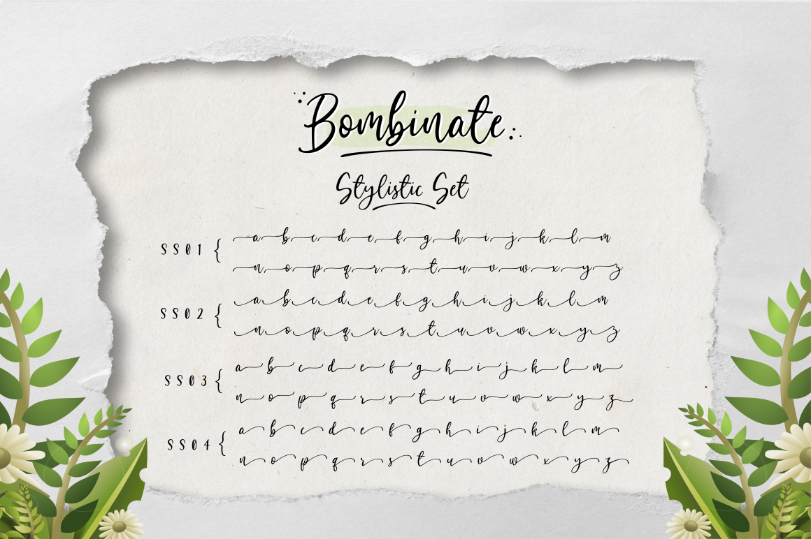 Bombinate // Handlettering Font example image 12