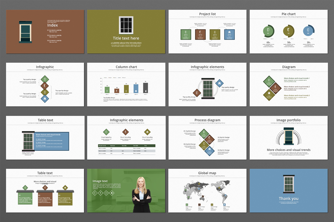 Frame PPT Template example image 4