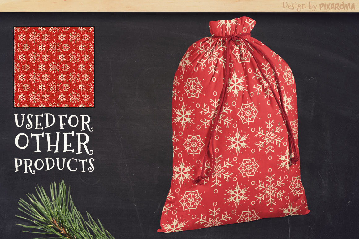 50 Christmas Seamless Patterns example image 13