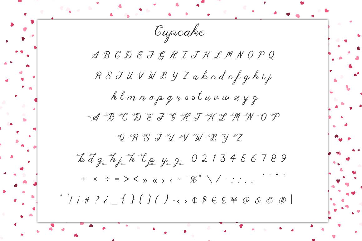 Cupcake Multilingual Script Font example image 4
