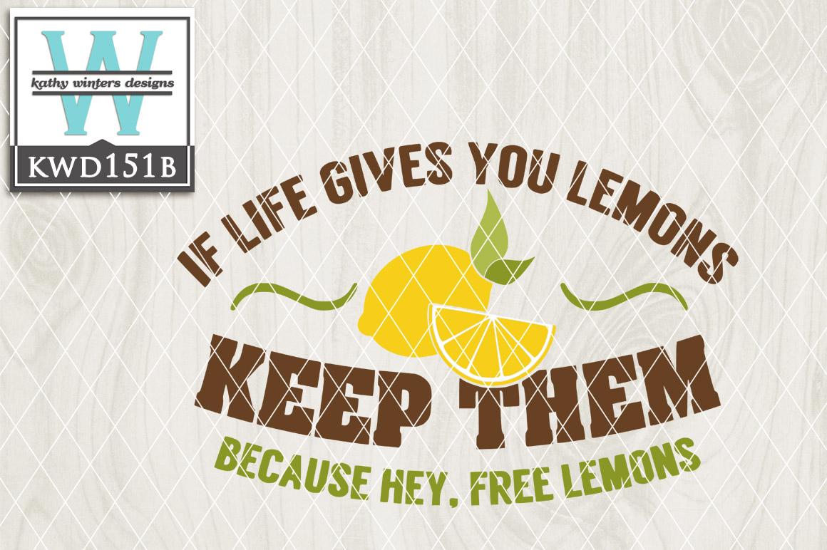 Lemon Cutting File KWD151B example image 1