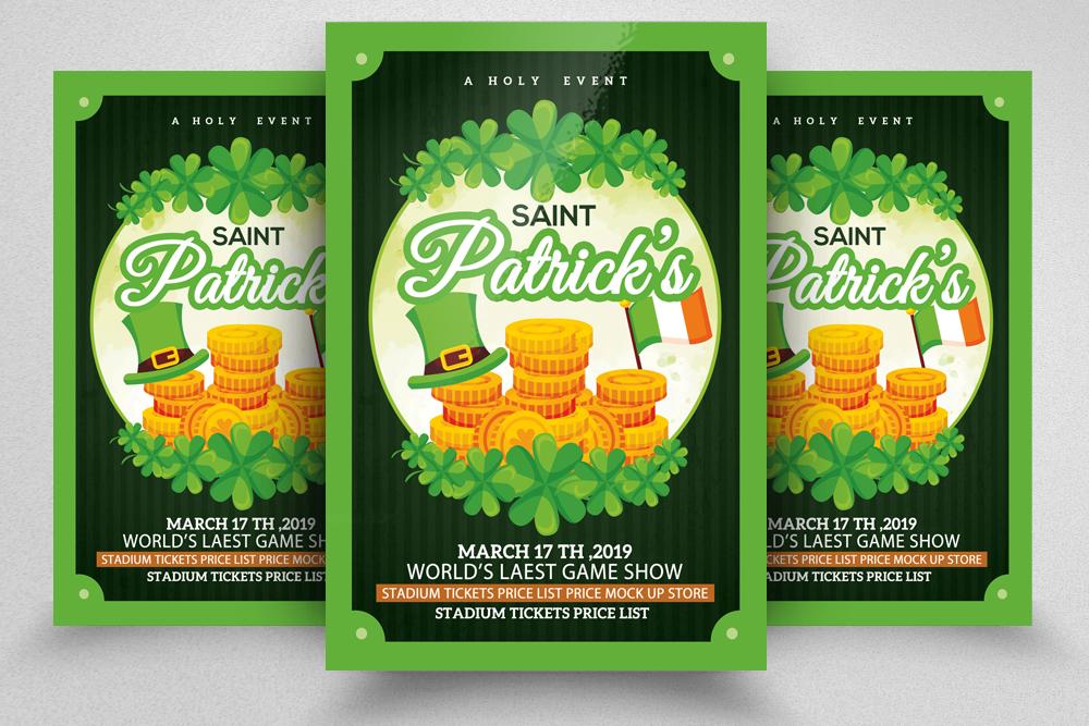 4 St. Patrick Flyers Bundle example image 5