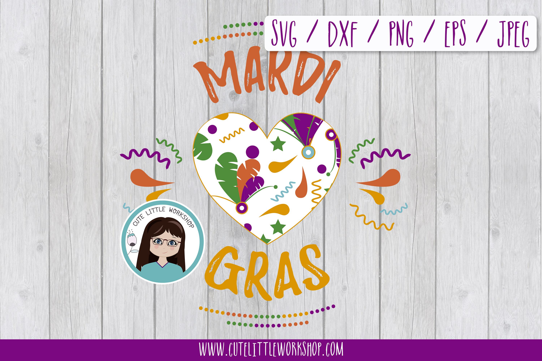 Mardi Gras SVG Bundle example image 8