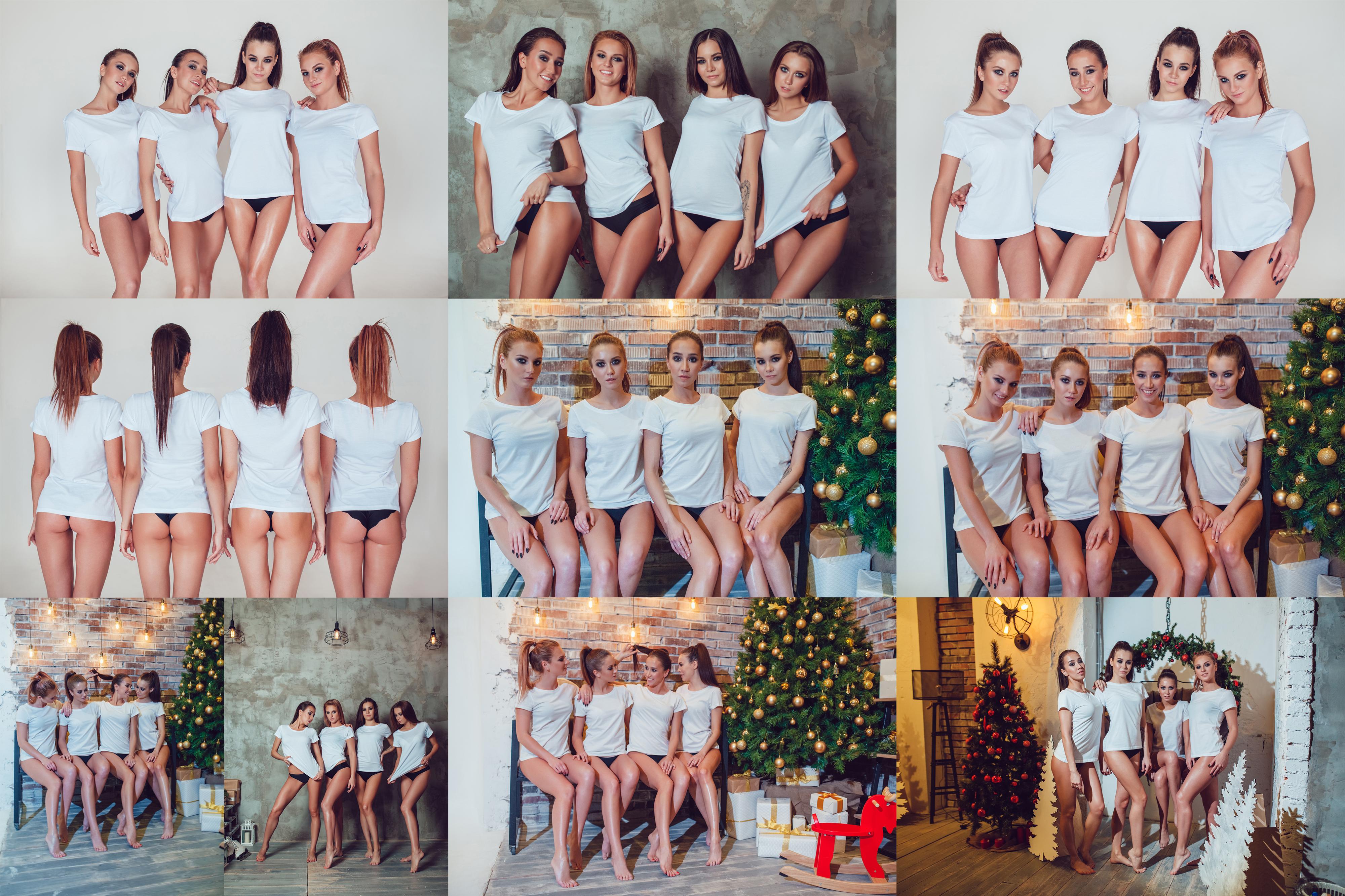 T-Shirt Mock-Up Vol.27 2017 example image 7