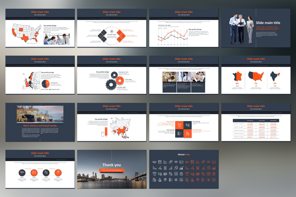 Finance PPT Template example image 3