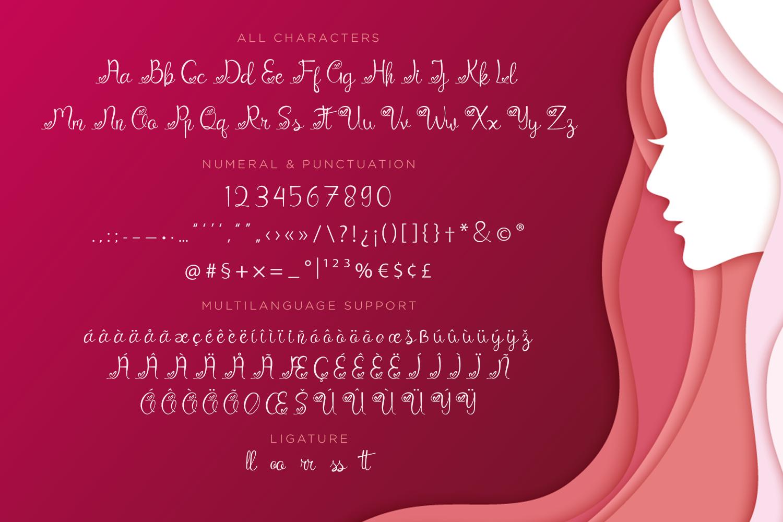 Catrina Script example image 7