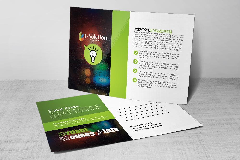 Business Good Idea Postcard example image 3