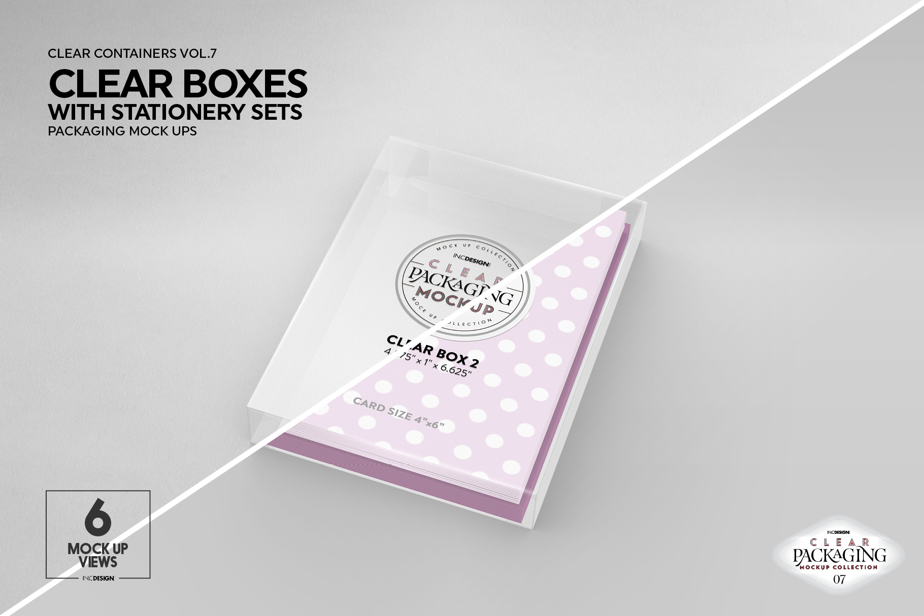 VOL.7 Clear Packaging Mockup Collection example image 16