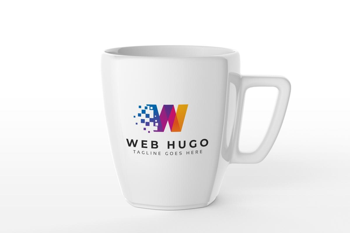 Web Hugo W Letter Logo example image 5