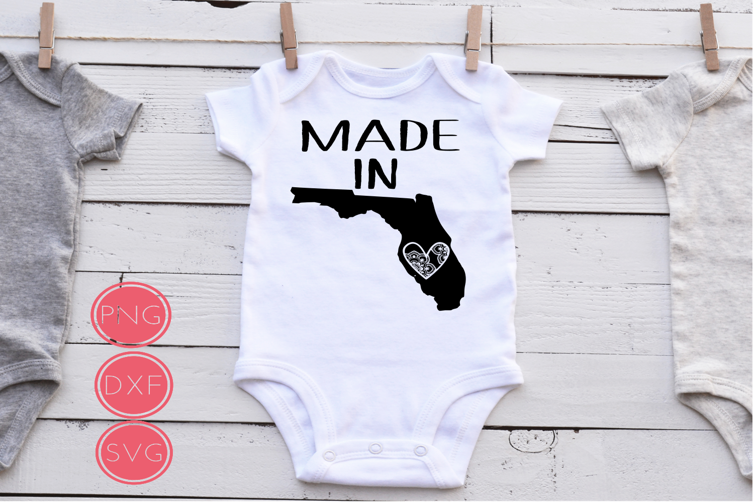 Made in Florida State SVG example image 1