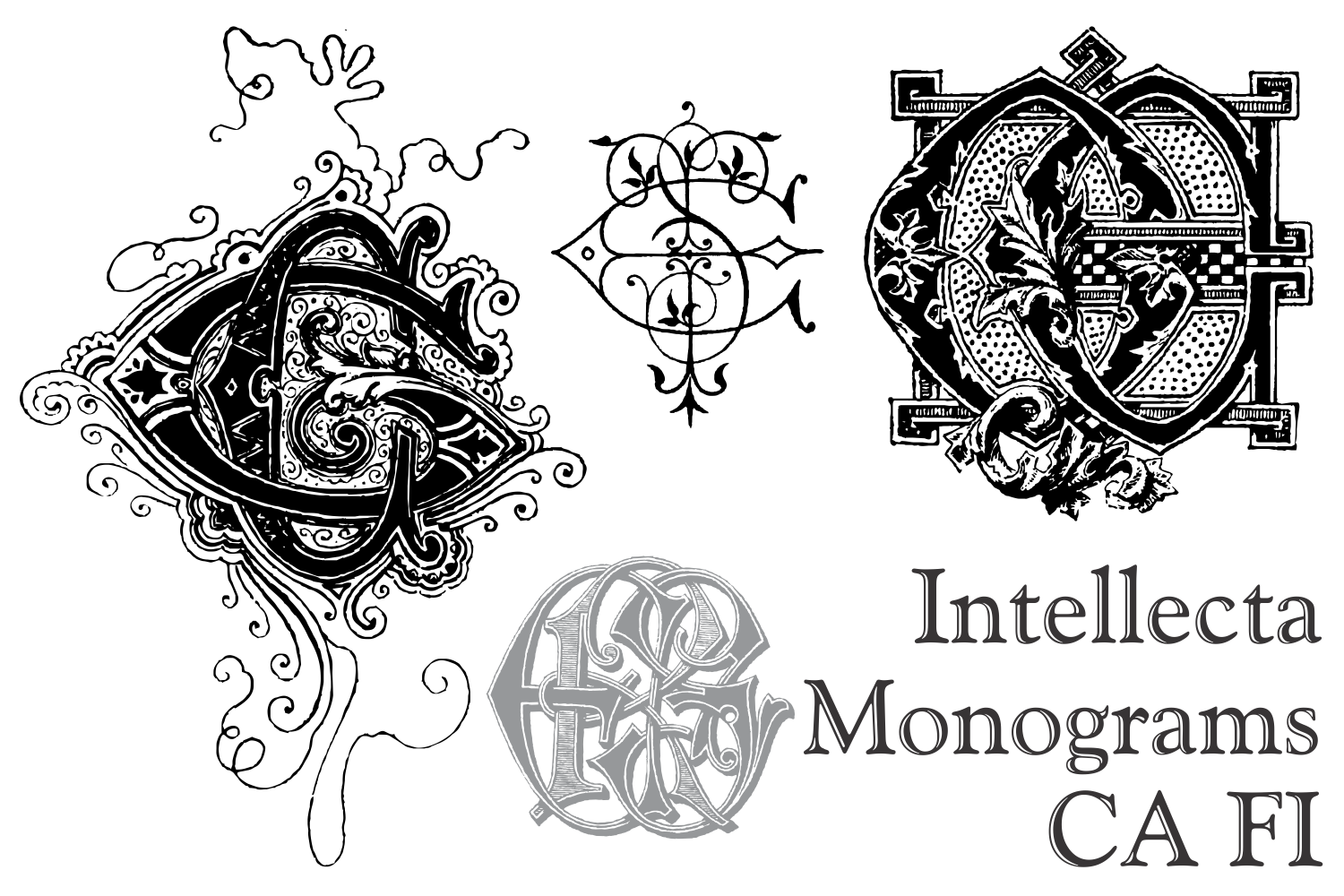 Intellecta Monograms CA FI example image 2