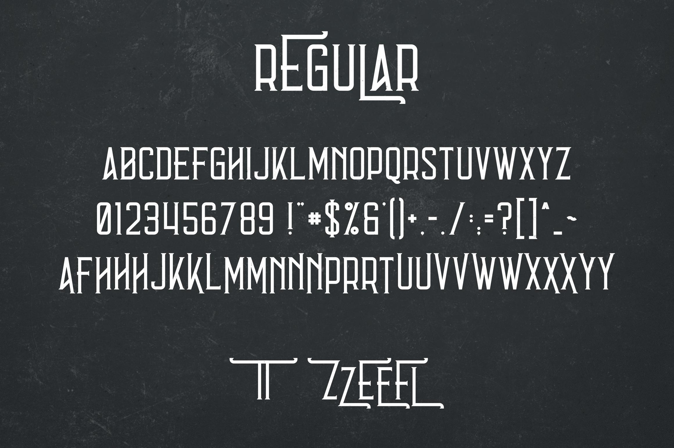 Errorist - Vintage Typeface example image 6