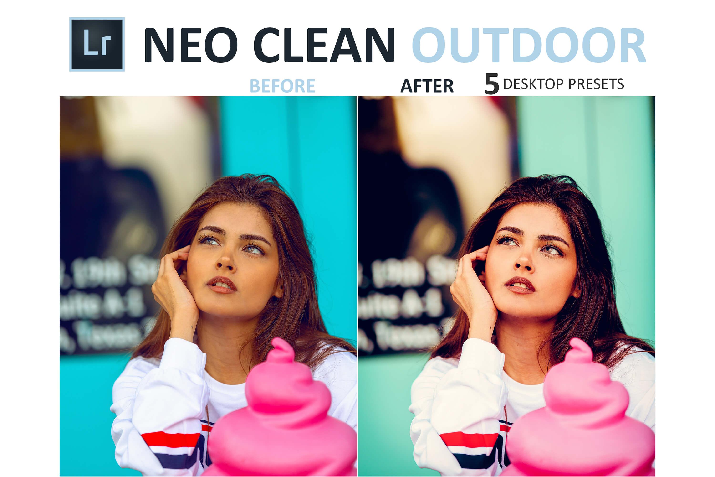 Neo Clean Outdoor Desktop Lightroom Presets example image 2