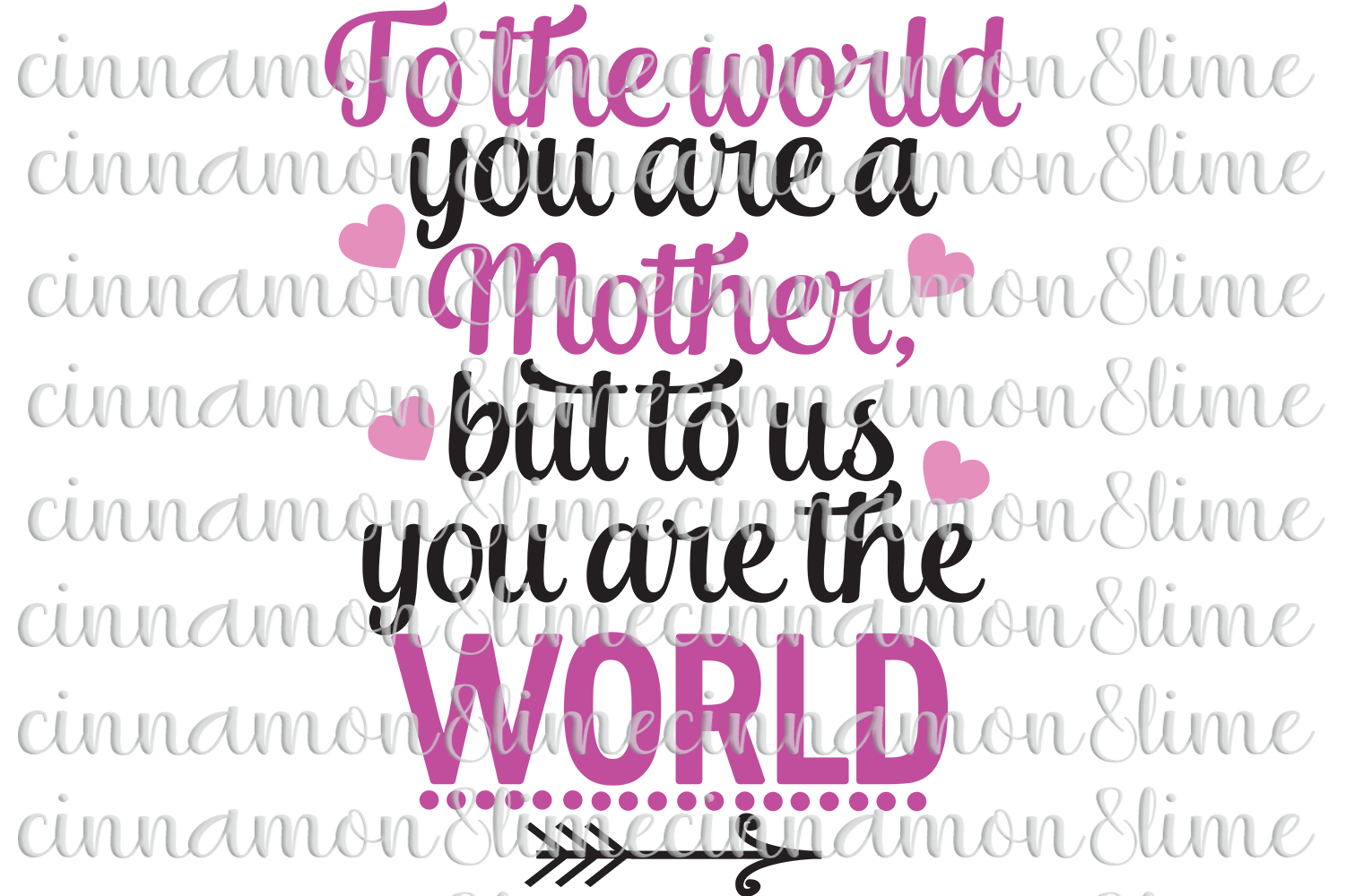 Mother's Day SVG example image 1