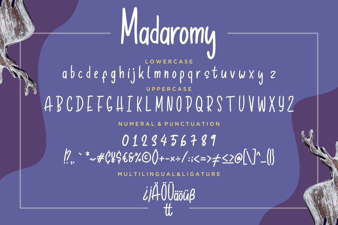 Madaromy Fun Monoline example image 7