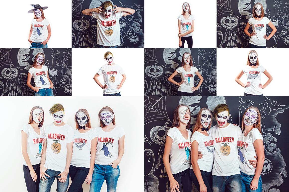 Halloween T-Shirt Mock-Up example image 10