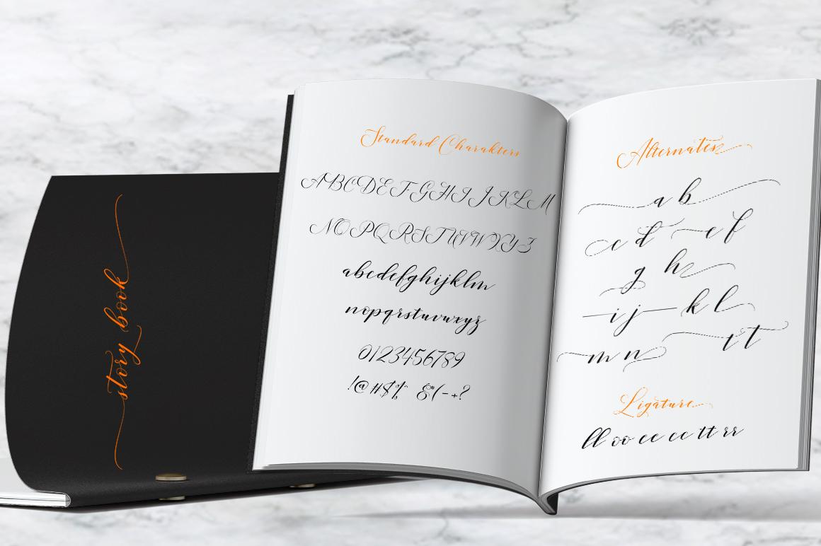 Lucinda Script example image 4