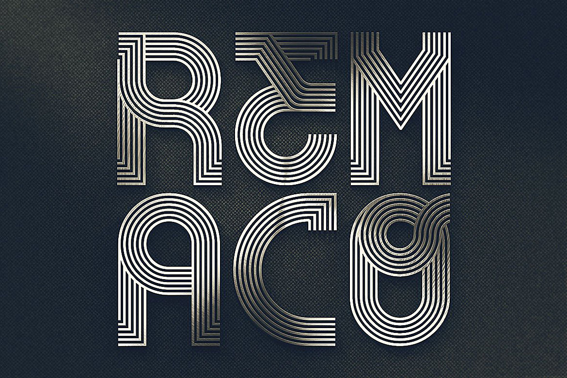 Remaco - Display Font example image 2