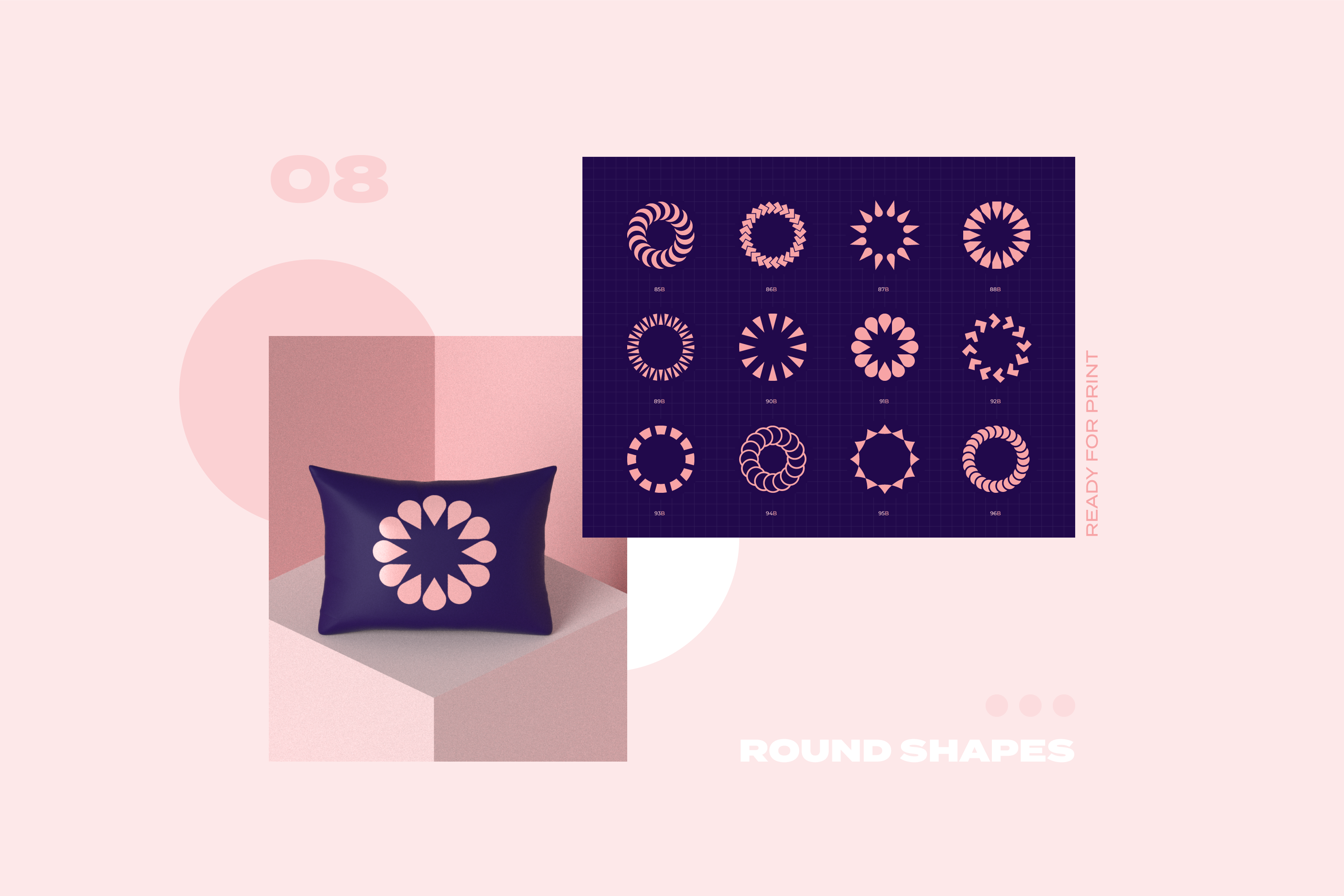 96 Geometric shapes & logo marks collection VOL.1 example image 22