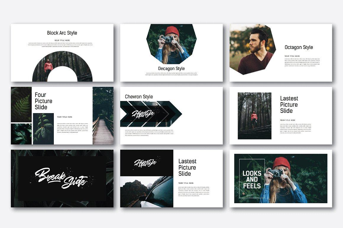 Hipstyle Multipurpose Powerpoint example image 5