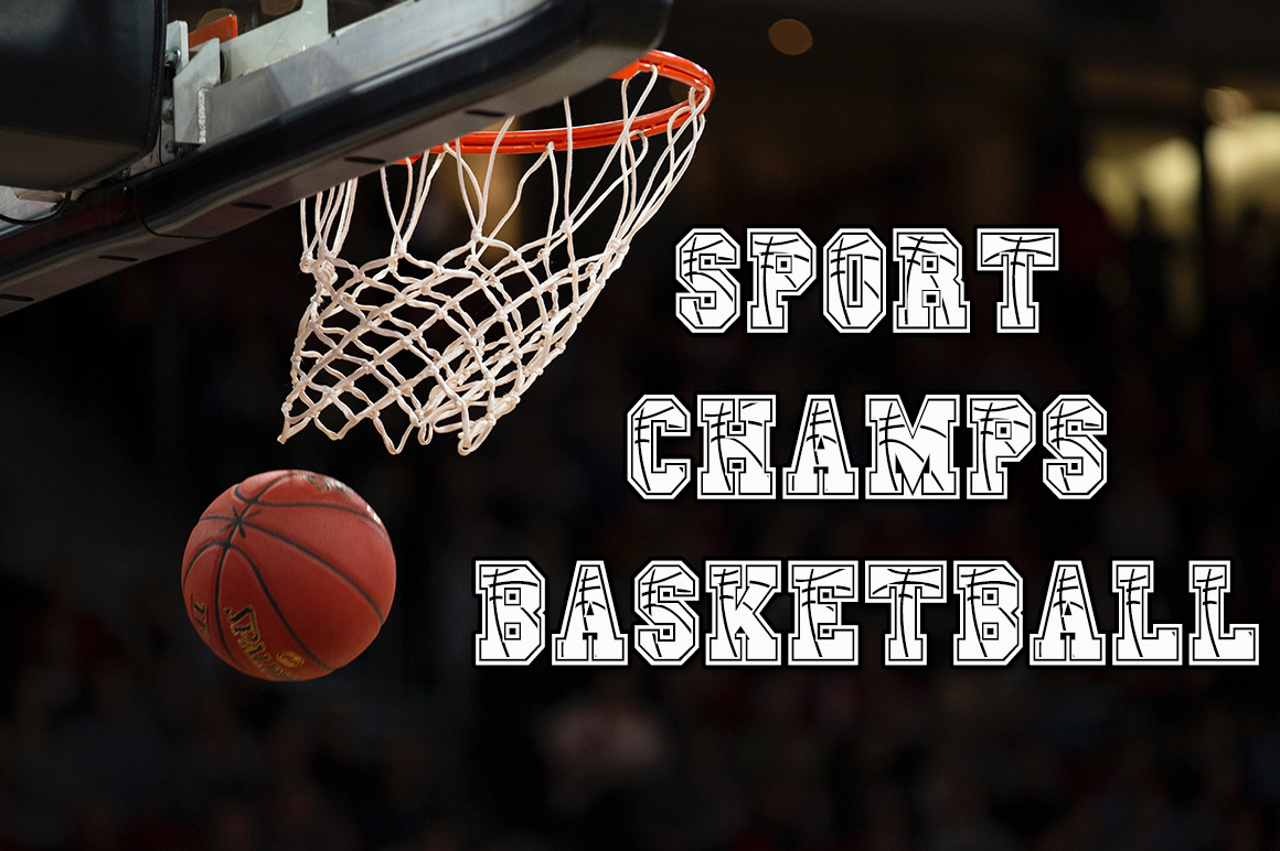 Sport Champs Basketball Font example image 1