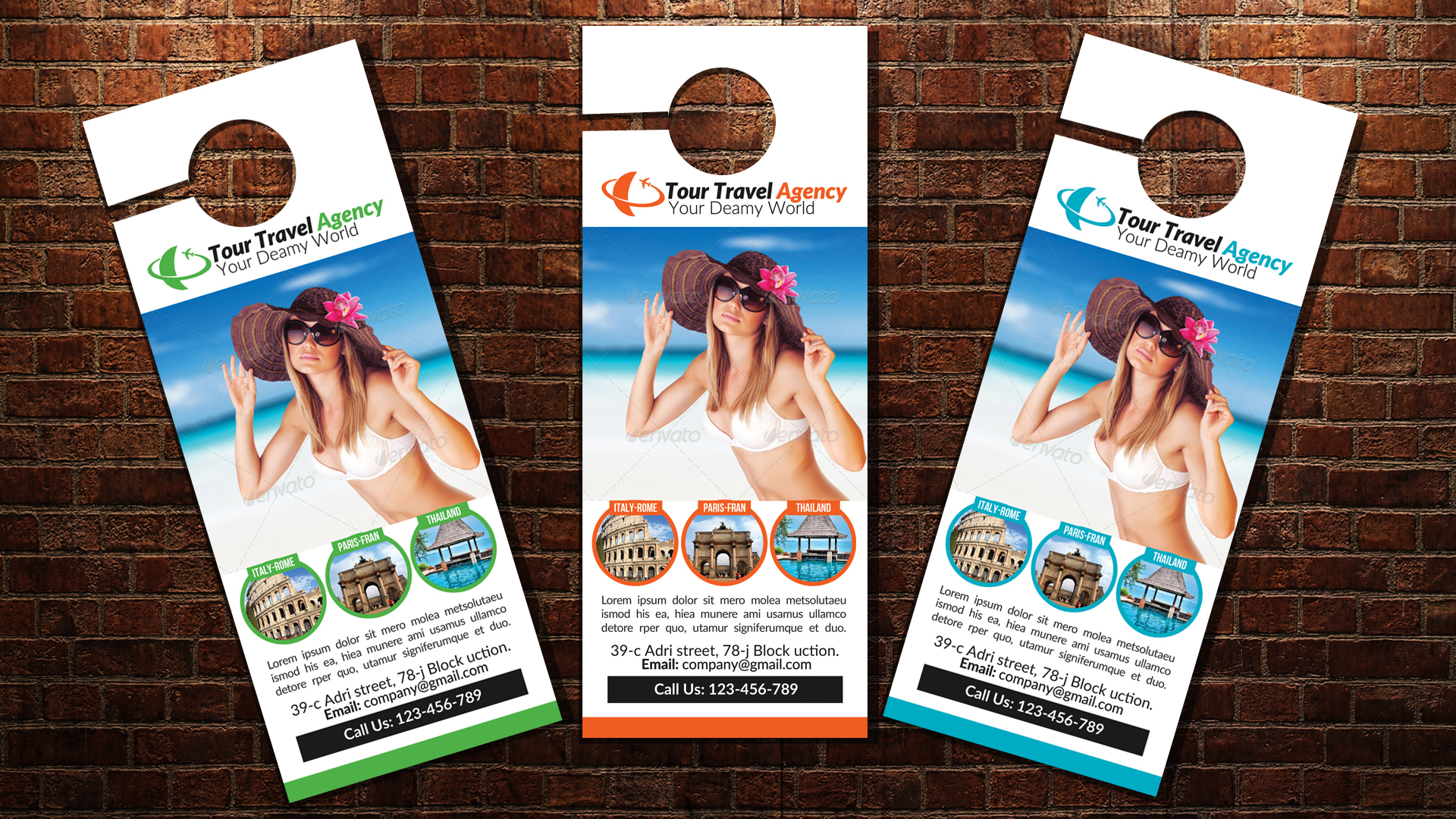Travel & Tour Door Hangers example image 3